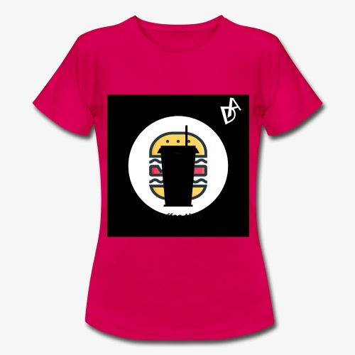coffee burger DA - Frauen T-Shirt