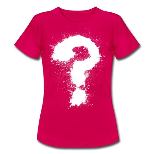 Fragezeichen - Frauen T-Shirt