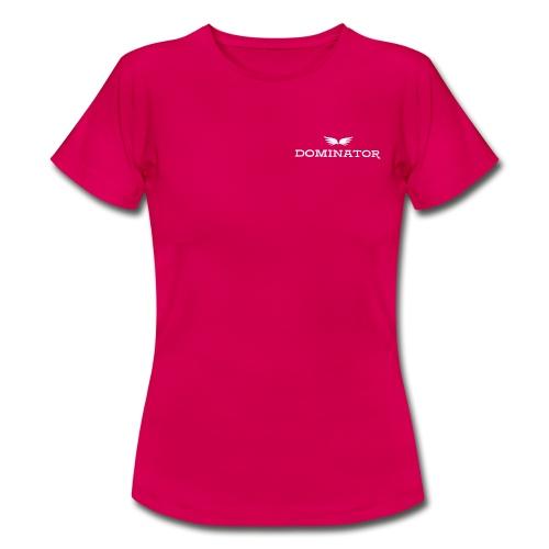 DOMINATOR white logo - T-shirt dam