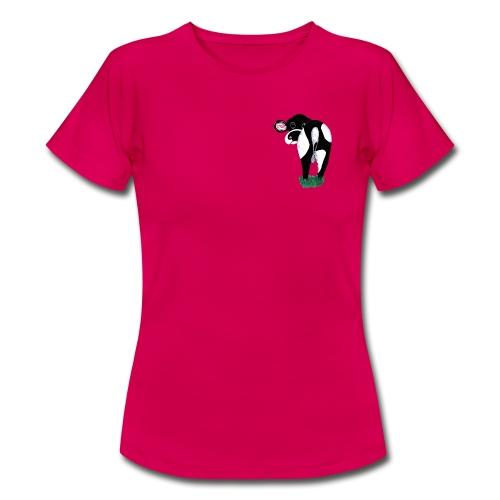 Quirky Cows Rear view - Women's T-Shirt
