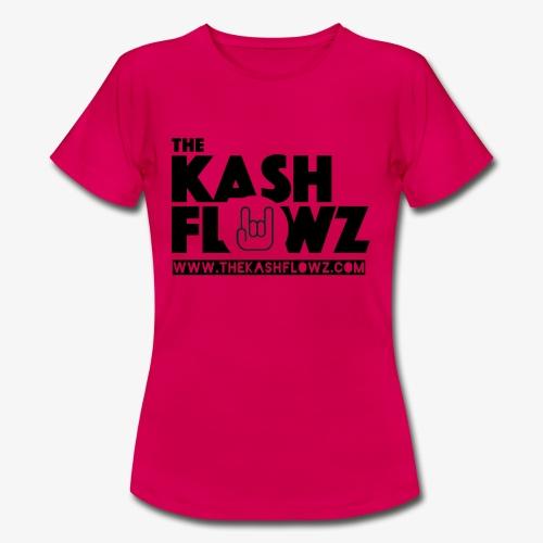 The Kash Flowz Official Web Site Black - T-shirt Femme