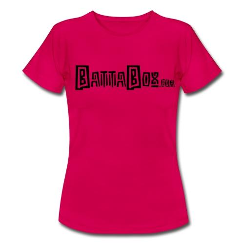 battaboxblack png - Women's T-Shirt
