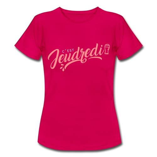 jeudredi - T-shirt Femme