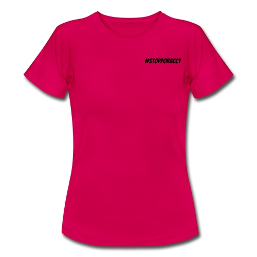Stop Poraccy - Maglietta da donna