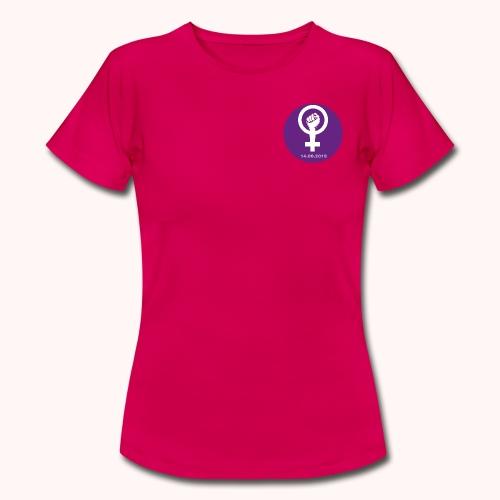 2-seitig bedruckt | impression devant-derrière - Frauen T-Shirt