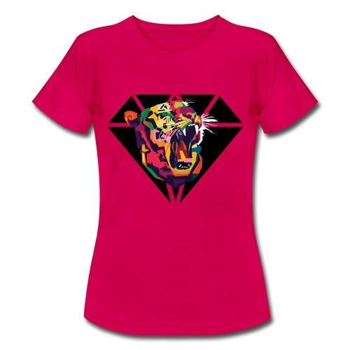 Tiger Hipster Design - Frauen T-Shirt
