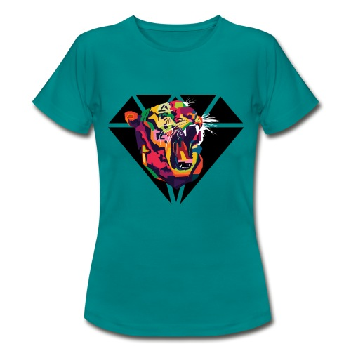 Tiger Hipster Design - Frauen T-Shirt