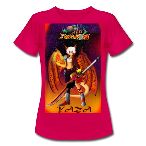 YAZA THE DRAGONEWT - Camiseta mujer