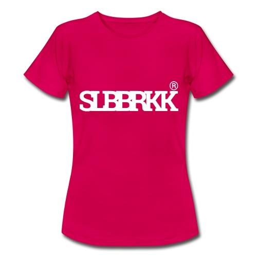 SLBBRKK white - Vrouwen T-shirt