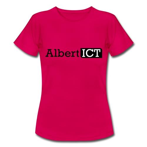 Logo_AlbertICT - Vrouwen T-shirt