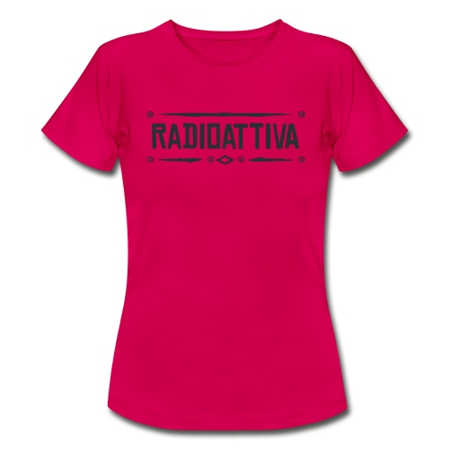 Radioattiva Vintage - Maglietta da donna
