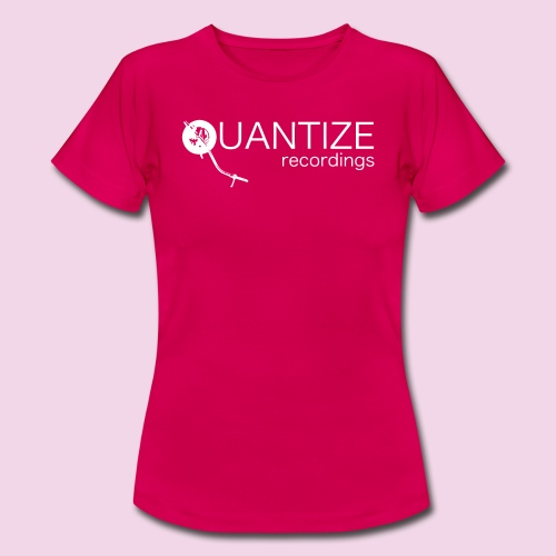 Quantize White Logo - Women's T-Shirt
