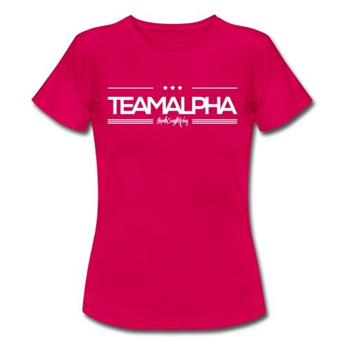 Team Alpha Alphatier Geschenk für Alphas - Frauen T-Shirt