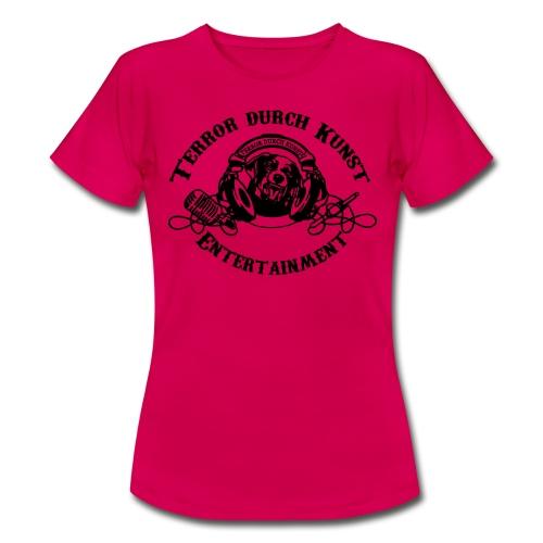 tdklogoschwarz 3 - Frauen T-Shirt