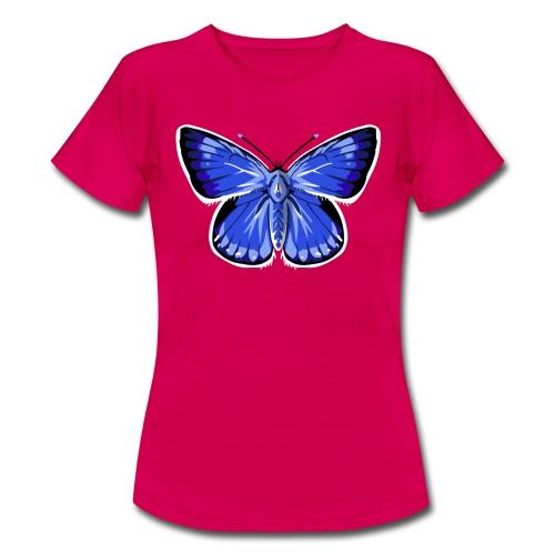 vlinder2_d - Vrouwen T-shirt