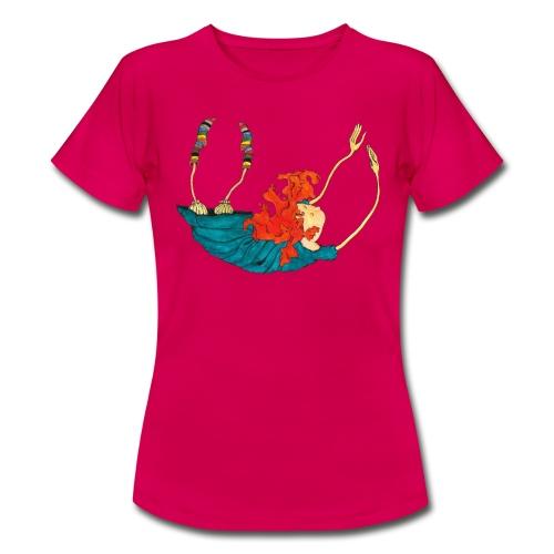 Frit fald - Dame-T-shirt