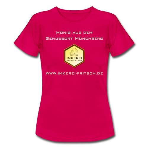 Imkerei Kevin Fritsch - Genussort Honig - Frauen T-Shirt