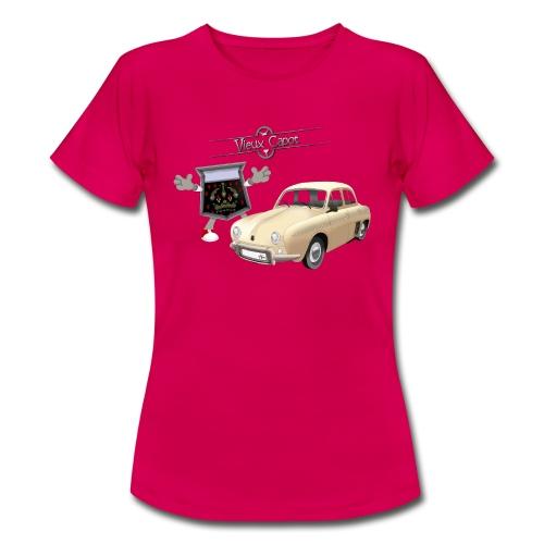 Dauphine Beige - T-shirt Femme
