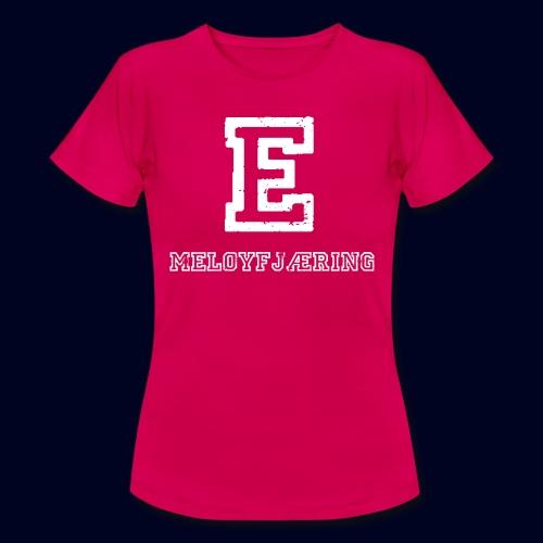 E - Meløyfjæring - T-skjorte for kvinner
