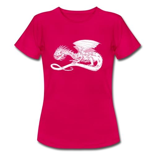 Pointy Dragon - Dame-T-shirt