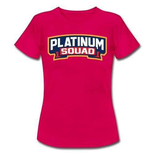 Platinum Trophies Squad Logo - Women's T-Shirt
