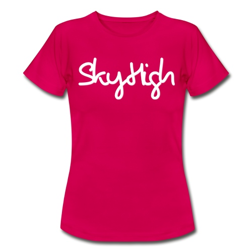 SkyHigh - Snapback - (Printed) White Letters - Women's T-Shirt
