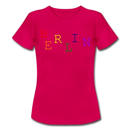 Berlin Rainbow #1 - Frauen T-Shirt