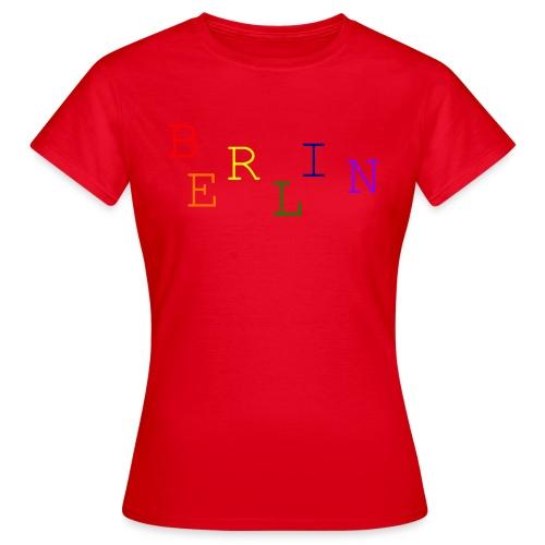 Berlin Rainbow #1 - Frauen T-Shirt
