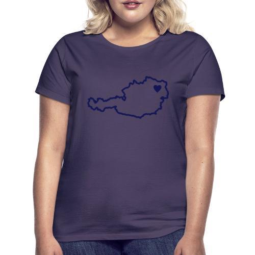 Ein Herz für Österreich - Frauen T-Shirt