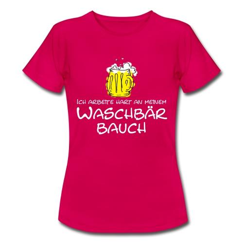 Waschbaerbauch, - Frauen T-Shirt