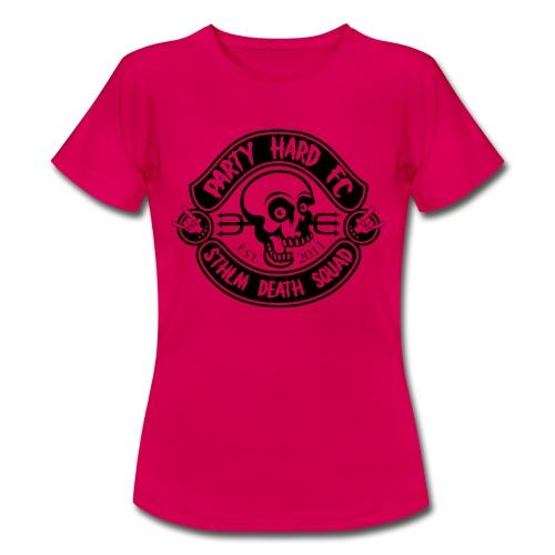 PHFC Logo svart - T-shirt dam