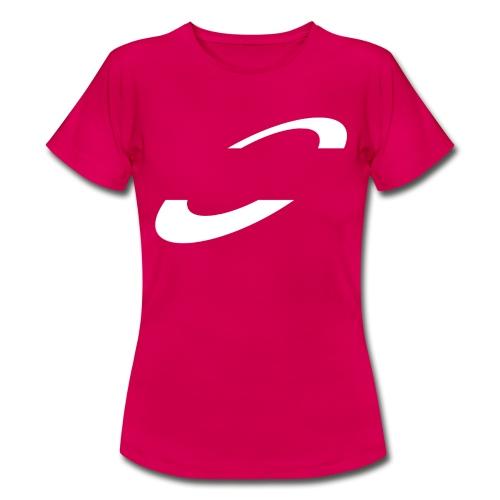 Planet Cycling Icon White - Women's T-Shirt