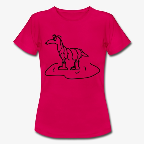 Regenhund - Frauen T-Shirt