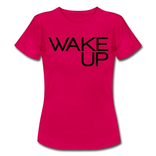 Wake Up Official - Maglietta da donna