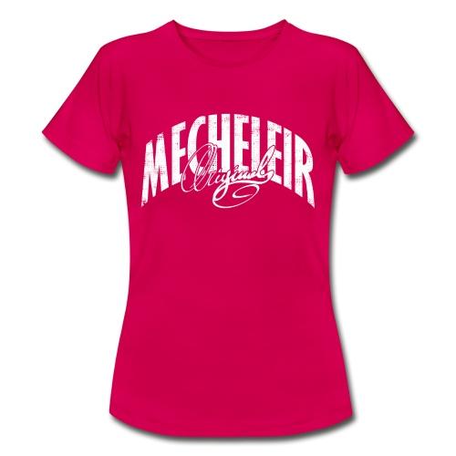 MecheleirOriginal1white - Vrouwen T-shirt