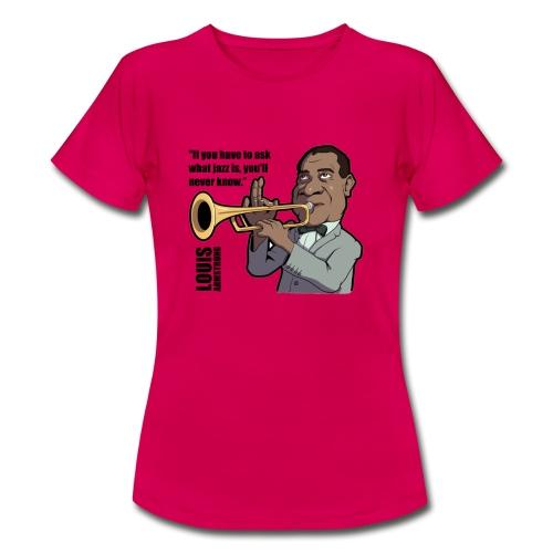 Louis Armstrong - T-shirt Femme