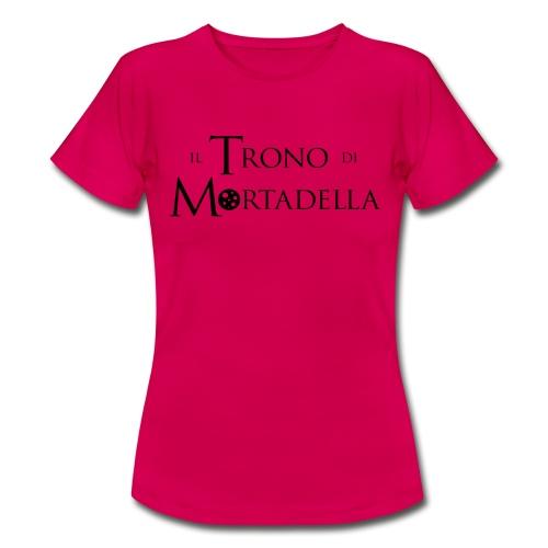 T-shirt donna Il Trono di Mortadella - Maglietta da donna
