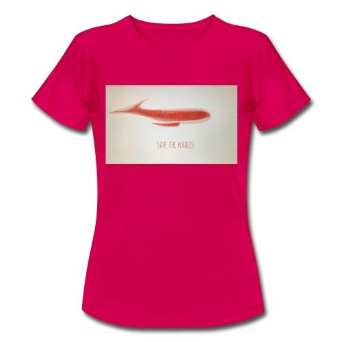SAVE THE WHALES - Maglietta da donna