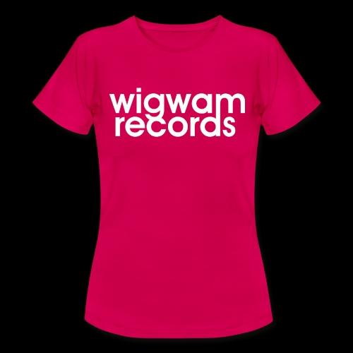 LOGO wigwam - T-shirt Femme