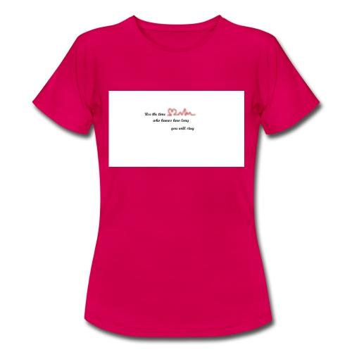 Zeit - Frauen T-Shirt
