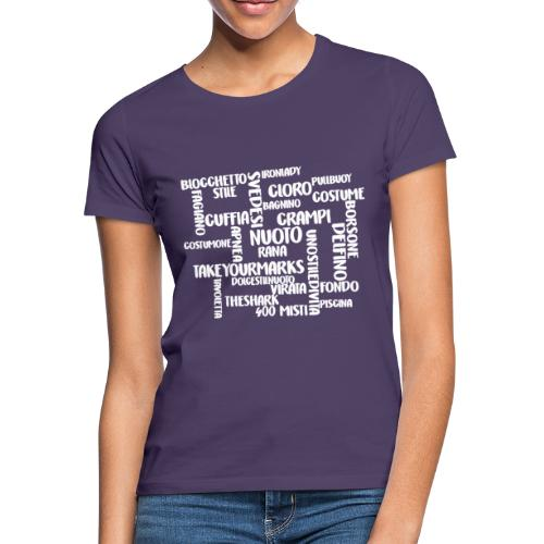 PAROLE CROCIATE - Maglietta da donna