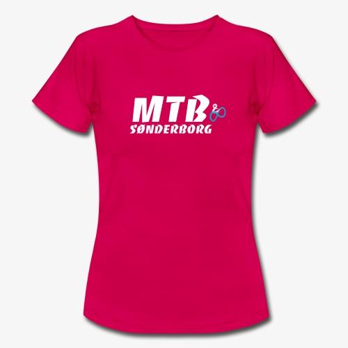 MTB Sønderborg Logo - Dame-T-shirt