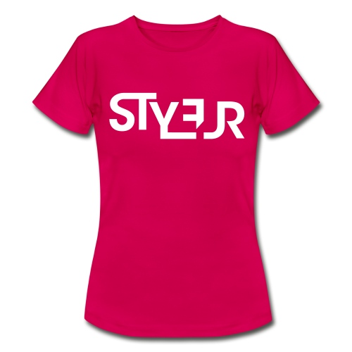 styleur logo spreadhsirt - Frauen T-Shirt