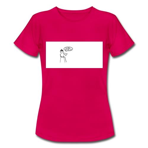 DE DIKZAK - Vrouwen T-shirt