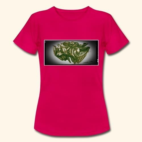 h4kke gr4ff - Frauen T-Shirt