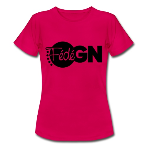 Logo FédéGN pantone - T-shirt Femme