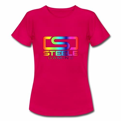 Rainbow logo - T-shirt dam