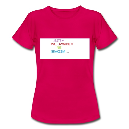 kim jesteś - Koszulka damska