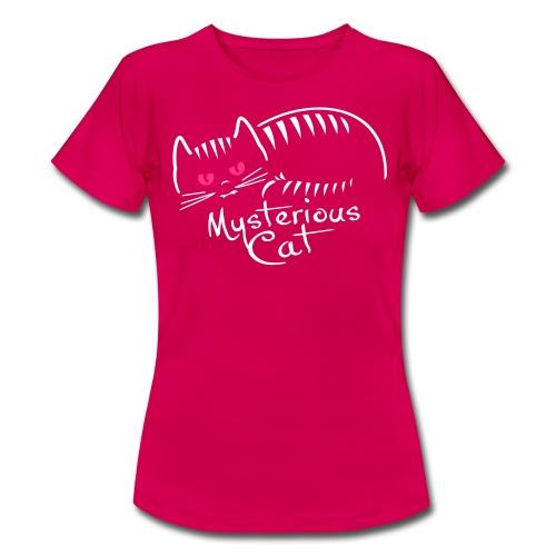 mysterious cat - Frauen T-Shirt