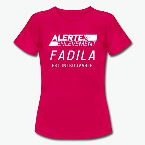 ALERTE ENLEVEMENT - T-shirt Femme
